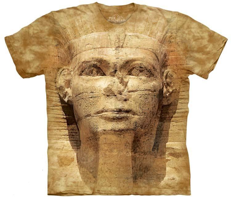 самые креативные футболки: 3D Сфинкс
