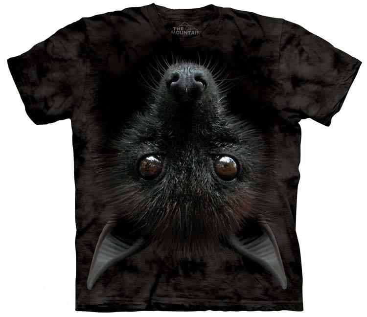 самые креативные футболки: 3D летучая мышь