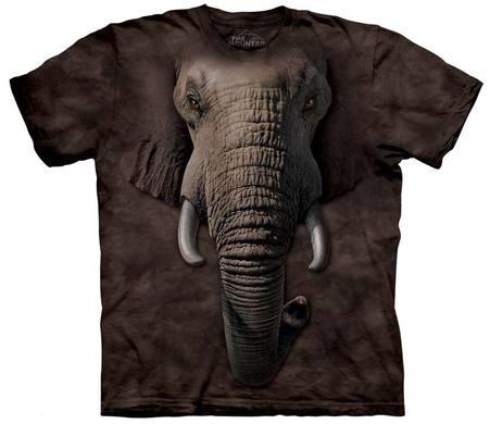 самые креативные футболки: 3D слон