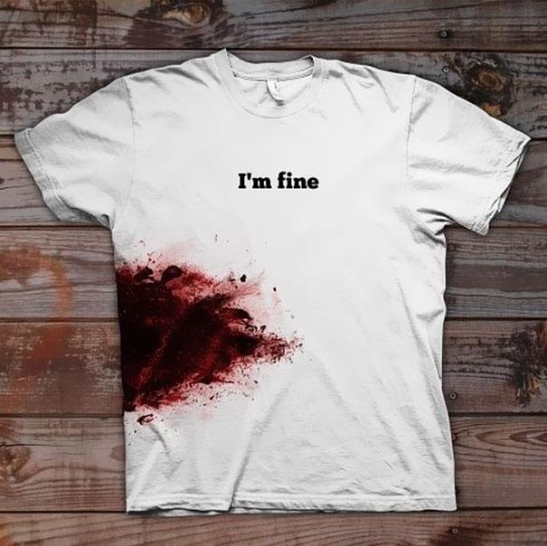 самые креативные футболки: со мной все в порядке - неубиваемые герои американских боевиков