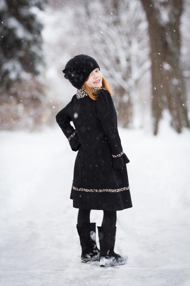 контрастная зимняя фотография без хроматических аберраций