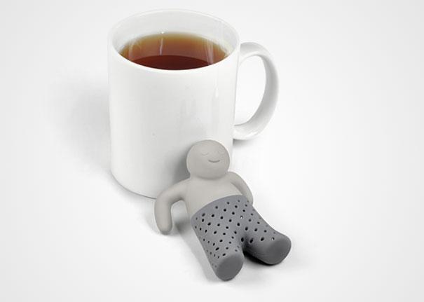 Cамые прикольные современные кухонные гаджеты: мистер Ти - ситечко для заваривания чая
