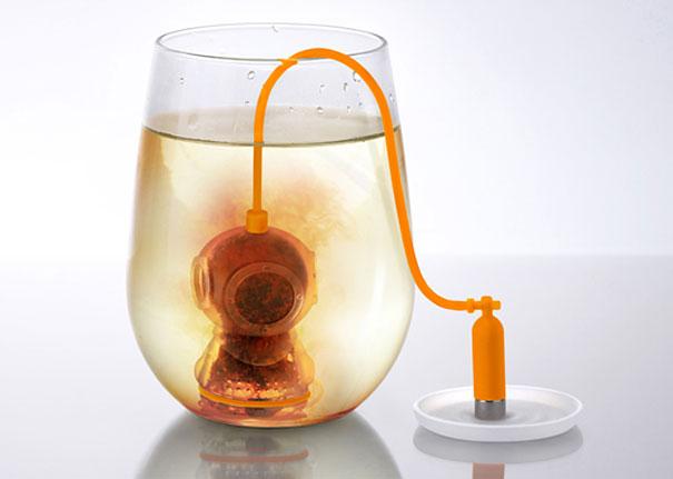Ситечко для чая «DEEP TEA DIVER» (или «Глубоководный дайвер») от Fred and Friends