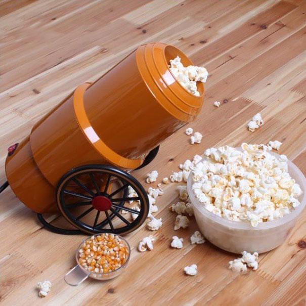 попкорновая пушка «Le canon à popcorn»