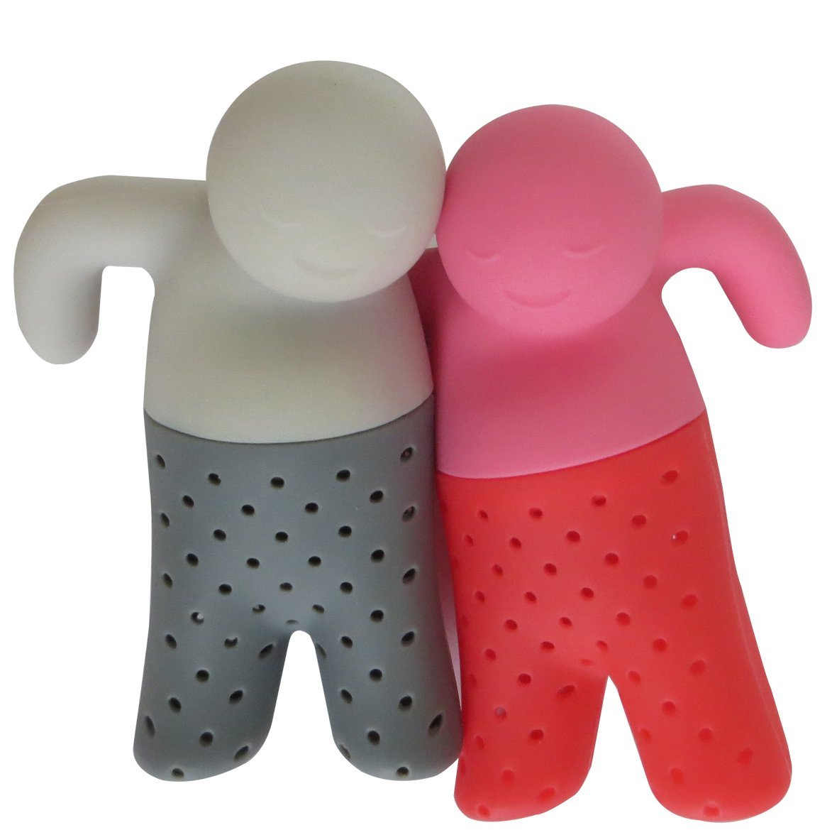 Cамые прикольные современные кухонные гаджеты: Мистер и Миссис Ти - ситечки для чая