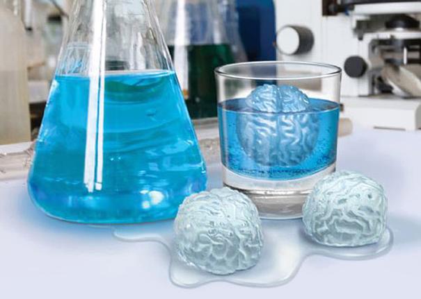 лед в виде мозга