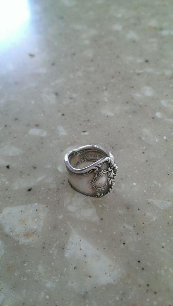 Как сделать красивое кольцо из старинной/старой ложки
