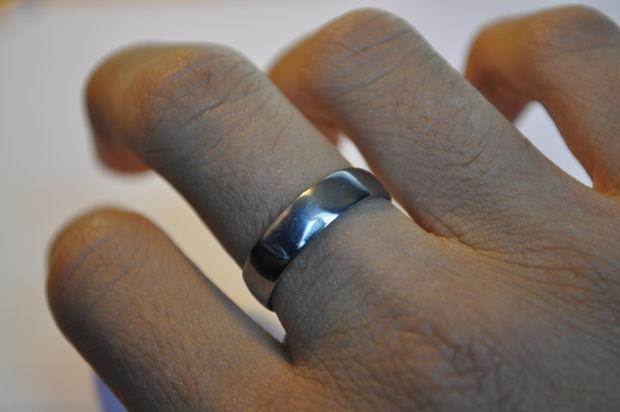 Как сделать кольцо из монеты. Вариант 2.
