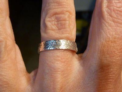 Как сделать кольцо из монеты. Вариант 1.