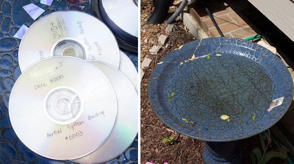 Как креативно использовать ненужные CD-диски: более 80-ти идей. Часть 1.
