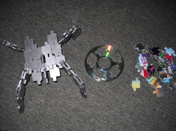 """креативно использовать ненужные CD-диски: репликаторы из сериала """"Звездные врата"""""""