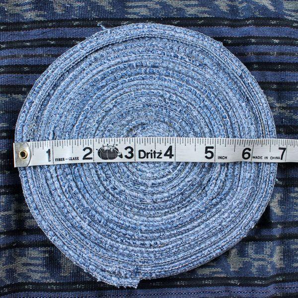 диаметр джинсовой базы под корзинку в дюймах