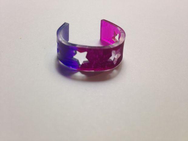Как сделать кольцо из термоусадочной пленки