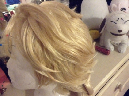 парик для костюма королевы Эльзы из «Холодного сердца»