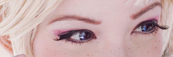 макияж для костюма королевы Эльзы