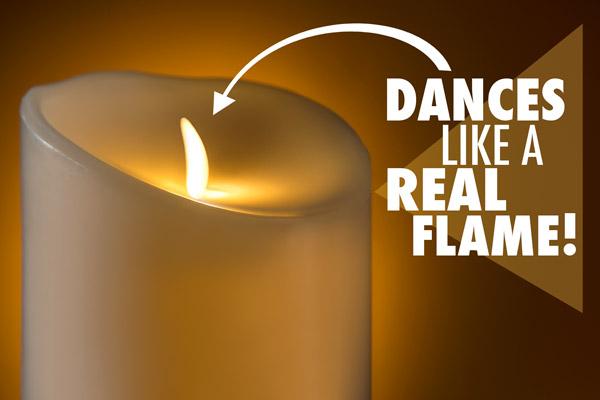 современные долгоиграющие искусственные свечи «свечи без огня» с огоньком, который пляшет, как настоящий