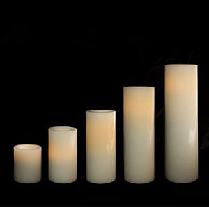 современные долгоиграющие искусственные свечи «свечи без огня» разных размеров