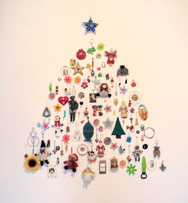 Елки открытки на стену