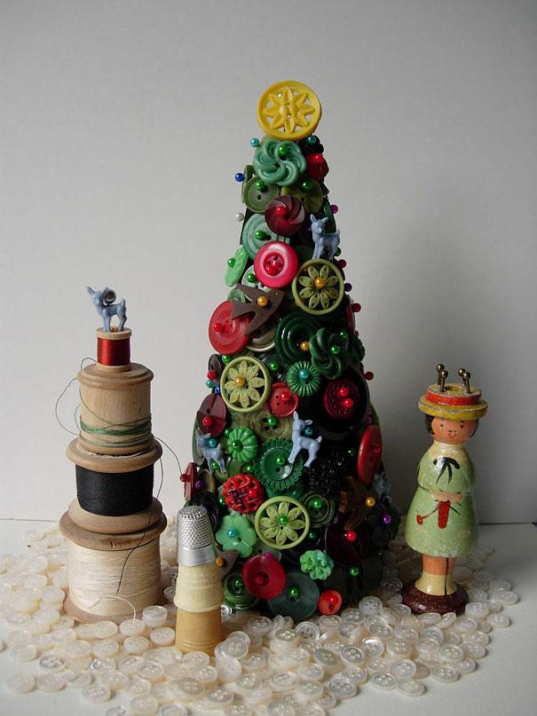 Как быть на Новый год, если нет елки, или как сделать елку своими руками. Часть 1.