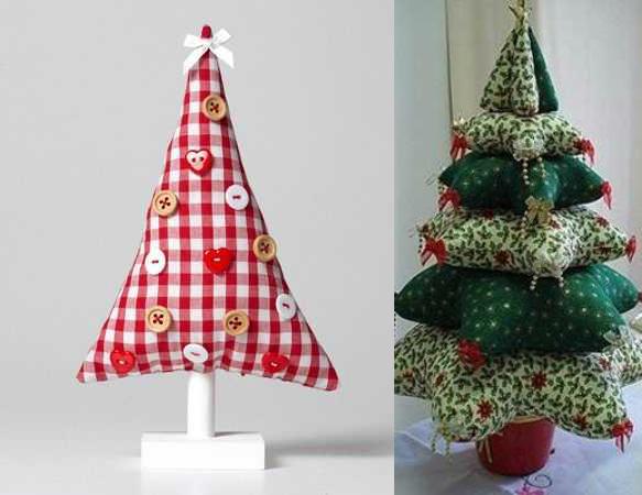 Как сделать новогоднюю елку своими руками: сложите из ароматических подушечек-саше звездочками