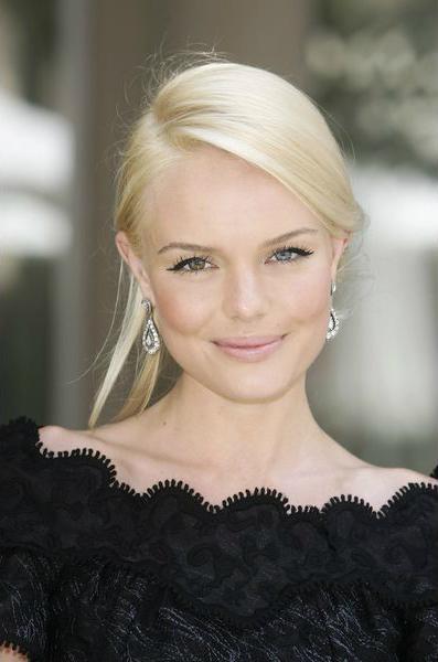 Кейт Босворт (Kate Bosworth), крупные брови, акцент на глаза