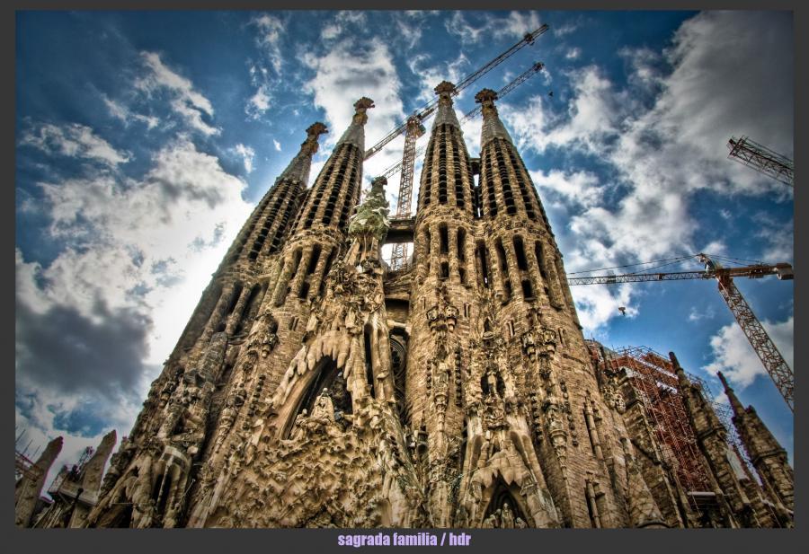 Храм святого семейства (La Sagrada Familia)