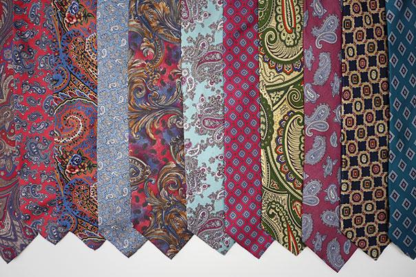 старомодные галстуки