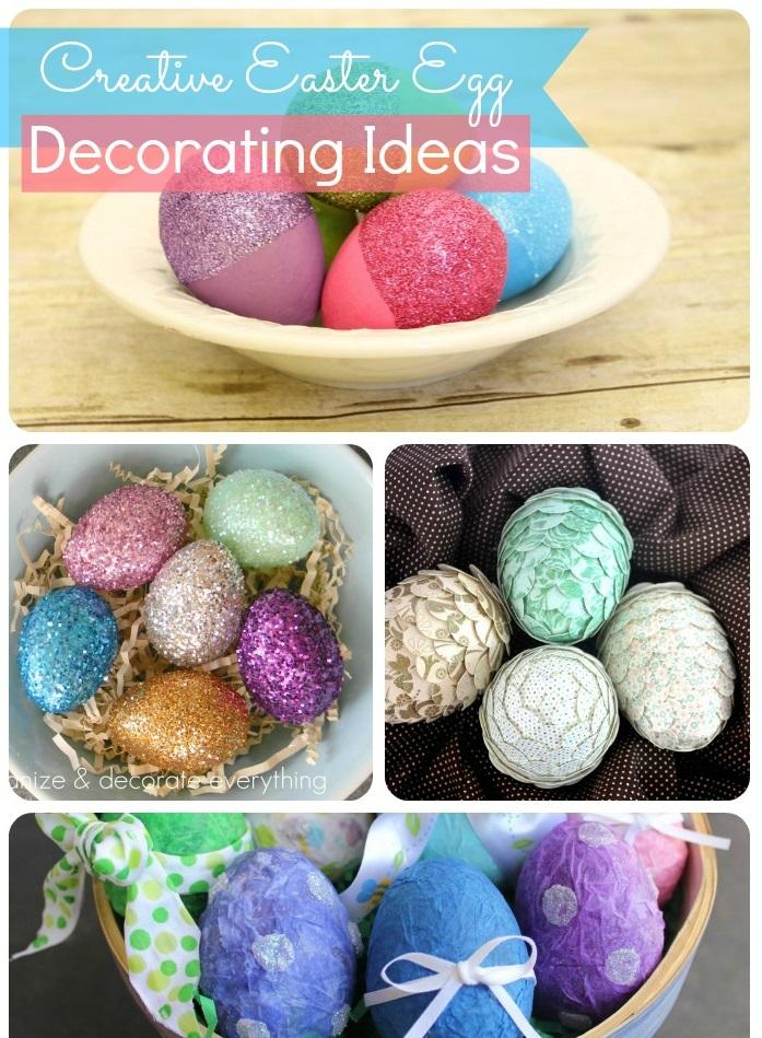 Как оригинально покрасить и декорировать яйца на Пасху: более 50 идей