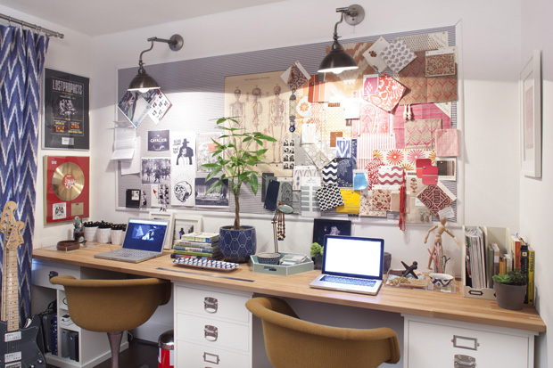 креативное, творческое рабочее пространство