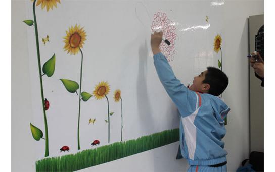 самоклеющаяся пленка на стену для маркеров