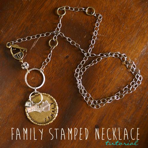 Как собрать модное колье/ожерелье для поездки за границу: «Семья»