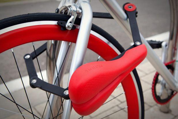 Ситилок (Seatylock) - защитный блокиратор для велосипеда