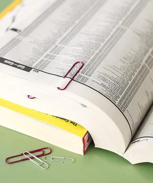 скрепки как закладки для книг