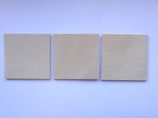 3 деревянные дощечки