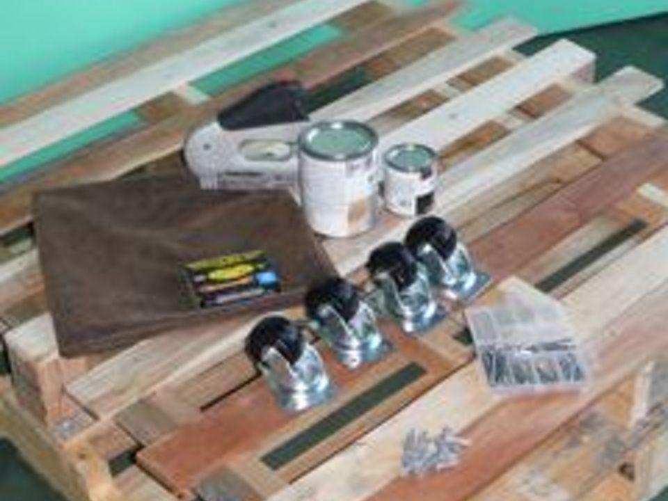 материалы для кофейного столика из деревянных грузовых поддонов (палет)