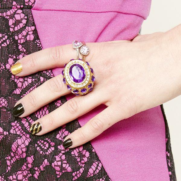 модный тренд 2014: коктейльные кольца