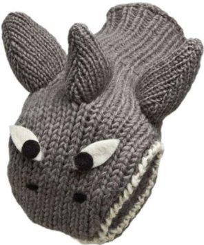 креативные варежки и перчатки для взрослых и детей: акулы - третья модель