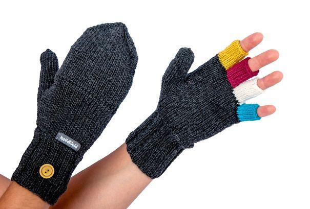 перчатки, превращающиеся в варежки