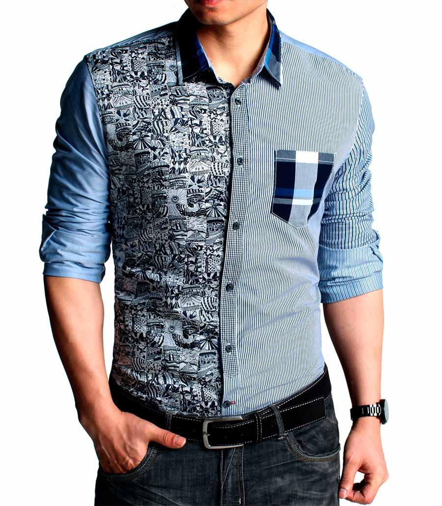 как выбрать модную мужскую рубашку: графичные принты