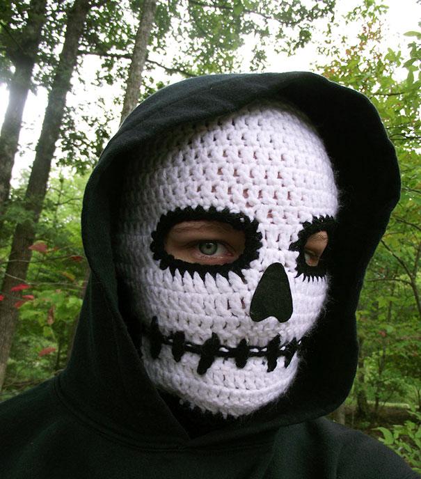 Шапка-маска смерти