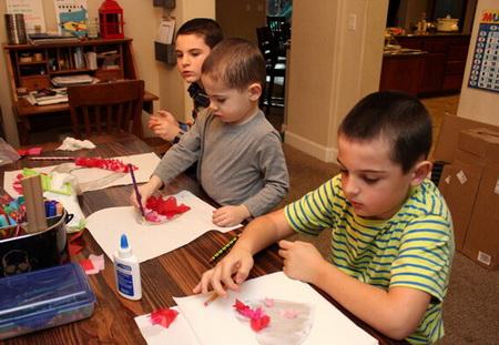 Как сделать детские поделки на 14 февраля?