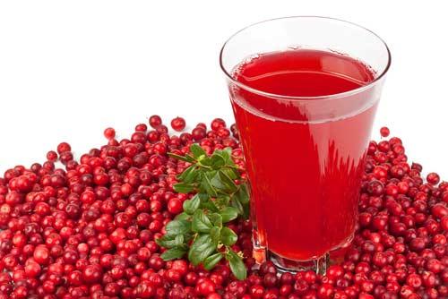 натуральный клюквенный сок для похудения