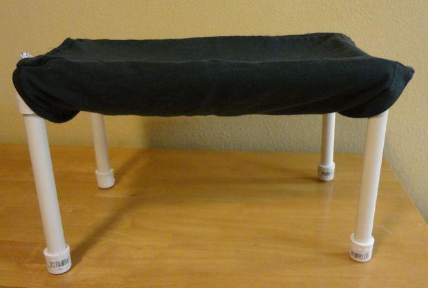 ткань на каркас лежака гамака для кошки