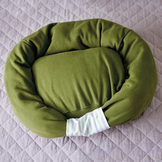 готовый лежак для кошки или небольшой собаки