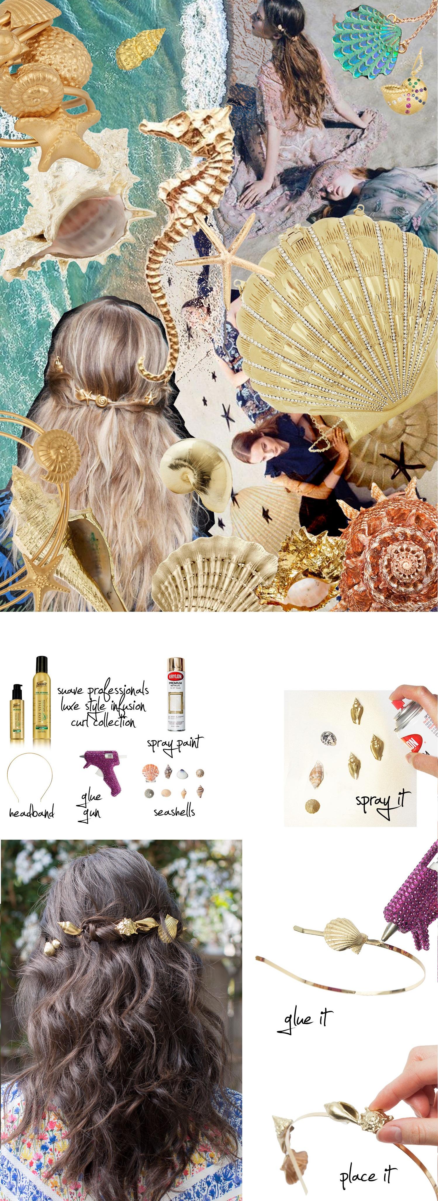 Модная прическа русалки 2015: море в волосах своими руками