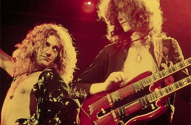 выступление Led Zeppelin
