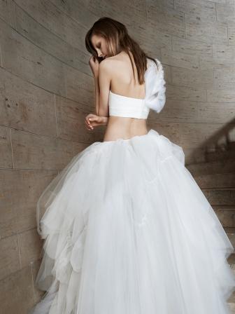 Как выбрать модное свадебное платье: тренды 2015 года