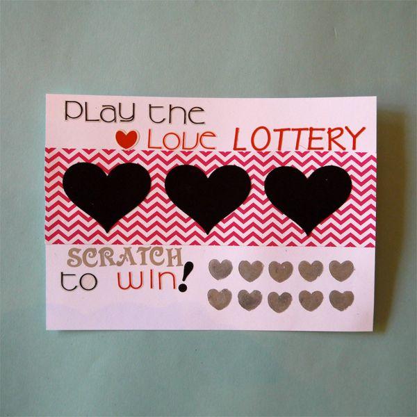 готовый самодельный лотерейный билет