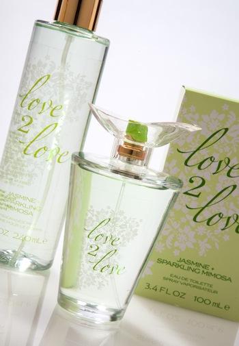 аромат Love2Love Jasmine + Sparkling Mimosa (Жасмин и искры мимозы)