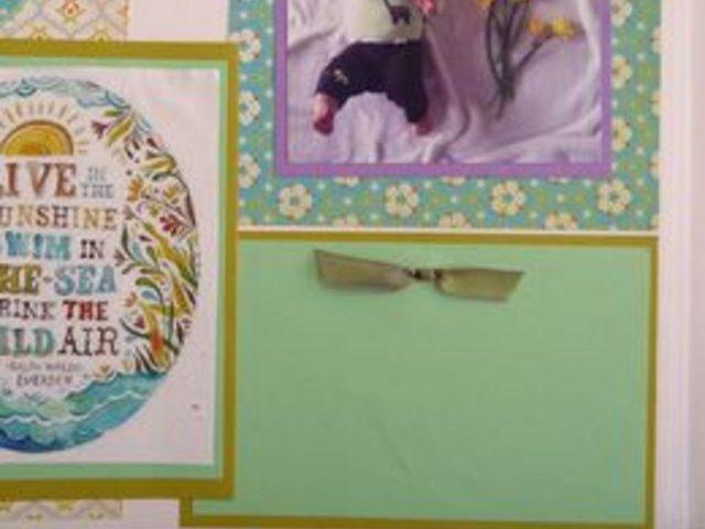 Как «завязать» миниатюрный элегантный бант на открытке